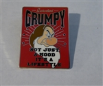 Disney Trading Pin 124285 Guaranteed Grumpy - It's a Lifestyle