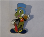 Disney Trading Pin   124287 Jiminy Cricket Holding Conscience Badge