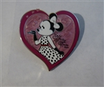 Disney Trading Pin 124292 Love Minnie Mouse XOXO