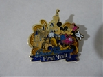 Disney Trading Pin 124307 SDR - Grand Opening - First Visit