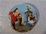 Disney Trading Pin 124440 ACME/HotArt - Belle and Gaston - Fountain