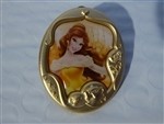 Disney Trading Pin 124447 Princess Gold Frame Mystery Collection - Belle