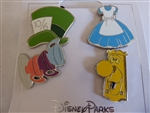 Disney Trading Pins 124731 Alice in Wonderland Icons (4 pins)