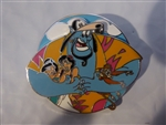 Disney Trading Pins  124996 Aladdin 25th Anniversary Collection - Genie Hug