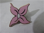 Disney Trading Pin 125334 The Little Mermaid Icons (4 pins) - Pink Flower