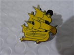 Disney Trading Pin   125337 Peter Pan Icons (4 pins) - Pirate Ship only