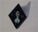 Disney Trading Pin 125539 Frozen Diamond Pixel Mystery Set - Olaf Only