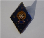 Disney Trading Pin 125541 Frozen Diamond Pixel Mystery Set - Anna Only