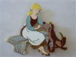 Disney Trading Pins 125557 WDI - Heroines and Dogs - Cinderella and Bruno