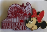 Disney Trading Pin 125870 DLR - 2018 Dated Collection - Minnie Mouse