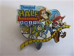 Disney Trading Pin 126092 DLR - runDisney - Pixar Half Marathon Weekend - Toy Story Half Marathon Event Pin
