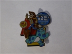 Disney Trading Pin 126093 DLR - runDisney - Pixar Half Marathon Weekend - Double Dare Event Pin