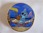 Disney Trading Pins 126103 ACME/HotArt - Golden Magic Series - Stitch Drinking in the Hammock