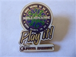 Disney Trading Pin   12626 DCA - Who Wants To Be A Millionaire Play It!