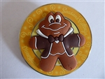 Disney Trading Pin 126264 DLR - Seasons Eatings 2017 - Gingerbread Mr. Toad