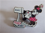 Disney Trading Pin 126338 Minnie and Mickey Mailbox Sweethearts Set - Minnie