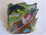 Disney Trading Pin 126345 The Jungle Book 50th Anniversary - Bagheera and Baby Mowgli