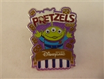 Disney Trading Pin 126403 HKDL - Popcorn and Pretzel Mystery Collection - Little Green Man