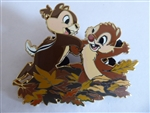 Disney Trading Pin 126441 ACME/Hot Art - Happy and Carefree Series: Full Fun - Chip and Dale