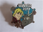 Disney Trading Pin 126494 Winter 2017 - Kristoff and Sven Snowflake