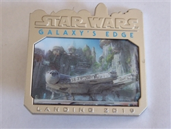 Disney Trading Pin  126558 Star Wars: Galaxy's Edge - Landing 2019