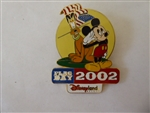 Disney Trading Pins   12657 DLR - Flag Day 2002