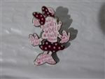 Disney Trading Pin 126785 WDW - Rock the Dots - Word Filled - Minnie