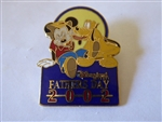 Disney Trading Pin  12695 DLR - Father's Day 2002 (Mickey & Pluto)