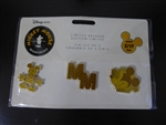 Disney Trading Pin 127040 DS - Mickey Mouse Memories Pin Set - February - Set 2