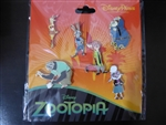 Zootopia Booster Set - 6 pins