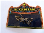 Disney Trading Pin    127314 DSSH - El Capitan Marquee - A Wrinkle in Time