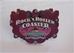 Disney Trading Pin  127342 Rock n Roller Coaster - Pink Jeweled Car Logo