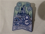 Disney Trading Pin 127352 WDW - 2018 Dated Collection - Cinderella Castle