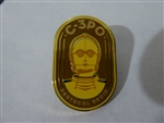 Disney Trading Pin 127698 Star Wars Retro Mystery Set - C-3PO only