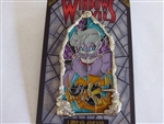 Disney Trading Pin  127745 DLR - Pin of the Month - Windows of Evil - Ursula