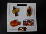 Disney Trading Pin  127755 Star Wars: SOLO Card set of 4