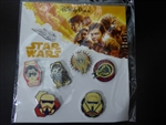 Disney Trading Pin 127756 Star Wars: SOLO 6 Pin Booster Pack