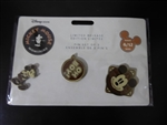 Disney Trading Pins 128065 DS - Mickey Mouse Memories 3 Pin Set - April