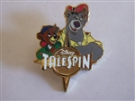 Disney Trading Pin  128128 Talespin - Cloudkicker and Baloo