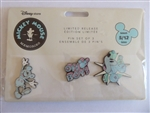 Disney Trading Pin  128281 DS - Mickey Mouse Memories - May - Set