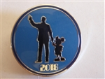 Disney Trading Pins 128441 Disney Parks 2018 Booster Set - Partners Walt and Mickey