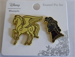 Disney Trading Pin 128458 Loungefly - Hercules and Pegasus