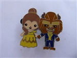 Disney Trading Pin  128470 DLP - Cutie Couples - Belle and Beast
