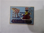 Disney Trading Pin   12851 WDW Resort - Pleasure Island CM 1995 July 4th