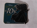 Disney Trading Pin 128781 WDW – runDisney Princess Half Marathon Weekend 2018 - Princess Enchanted 10K Event Pin - Merida