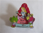 Disney Trading Pins 128785 DLR - Alice In Wonderland 60th Anniversary