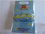 Disney Trading Pin 128835 Loungefly - Toy Story Land Grand Opening - Little Green Men