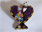 Nightmare Before Christmas - Jack and Sally Harlequin Demon Heart
