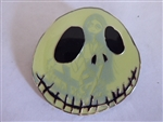 Disney Trading Pins 128848 Nightmare Before Christmas - Jack Skellington face with Sally glow pin