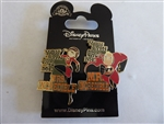 Disney Trading Pin 129248 Incredibles 2 - Mr. Incredible and Mrs. Incredible